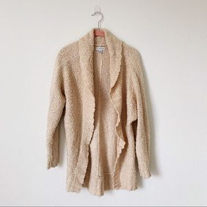 GUESS Oversized Fuzzy Open Cozy Cardigan